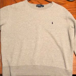 Polo Ralph Lauren Grey Crewneck Sweatshirt